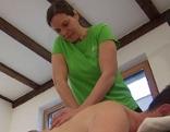 Physiotherapeut; Massage; Massieren