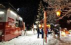 """Der """"Unterwegs in Österreich""""-Truck im Schnee"""