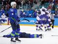 Hokej Slovenija ZOI poraz Norveška