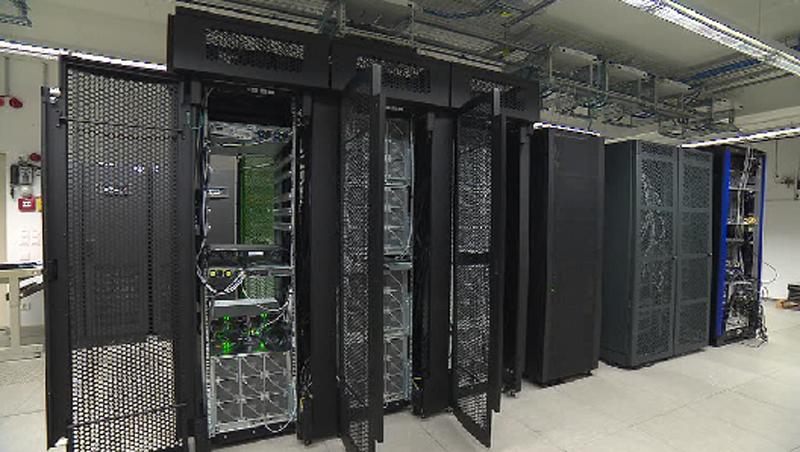 Neuer Supercomputer gestartet  – ooe.ORF.at