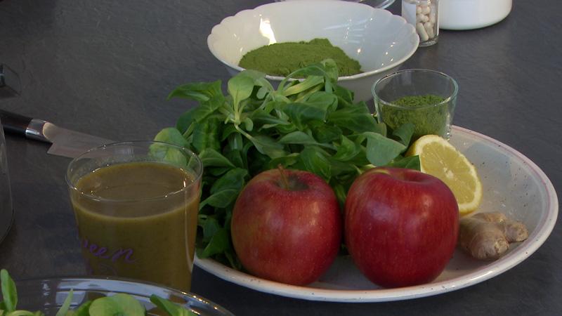 grüner Gemüsesmoothie