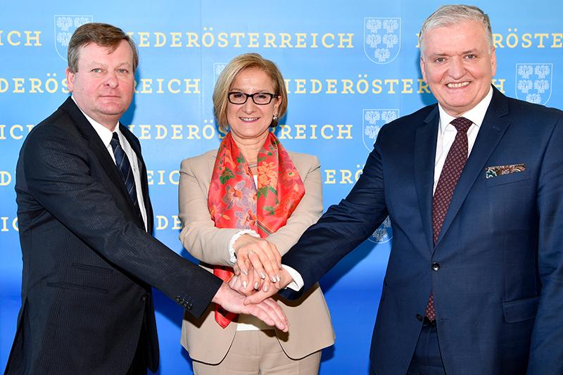 Waldhäusl, Mikl Leitner, Schnabl
