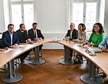 Koalitionsverhandlungen Platter ÖVP Grüne Felipe