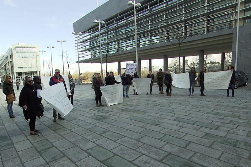 Protest Betriebsrat Therapeutische Gemeinschaften