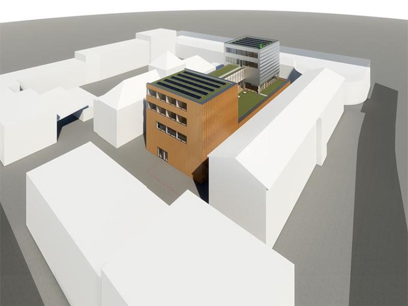 Neues Lehrlingsausbildungszentrum