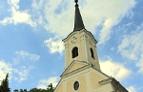 Kirchturm von Wolfau