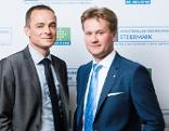 Von links: Pagger und Knill