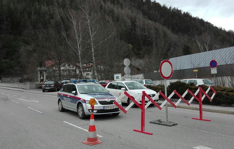 Nach Steinschlag Serfauser Straße gesperrt