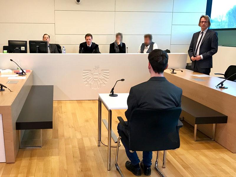 Prozess Korneuburg Tödlicher Messerstich 19-Jähriger
