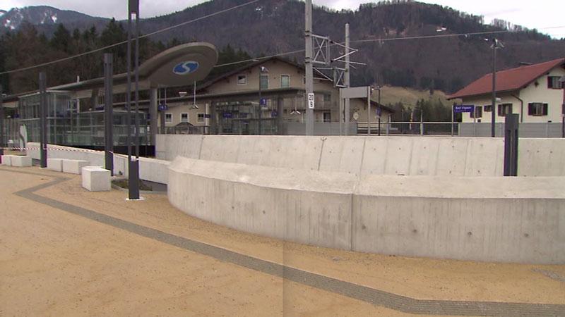 Barrierefreiheit Bahnhof Bad Vigaun, Tennengau