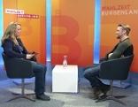 Steinocher im Studio mit Silvia Scherleitner