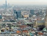 Wien Panorama Stephansdom