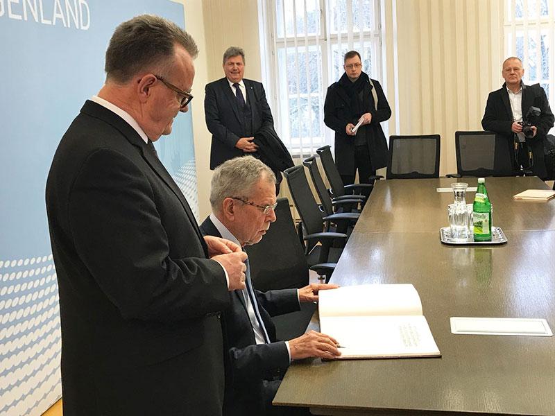 Bundespräsident zu Besuch im Burgenland