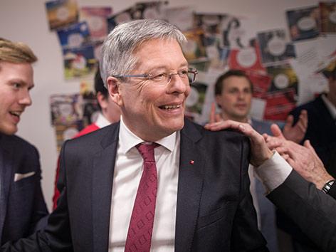 Landtagswahl Kärnten 2018 Wahlparty SPÖ Kaiser
