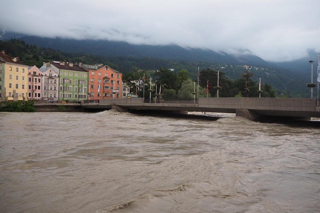 Inn Hochwasser