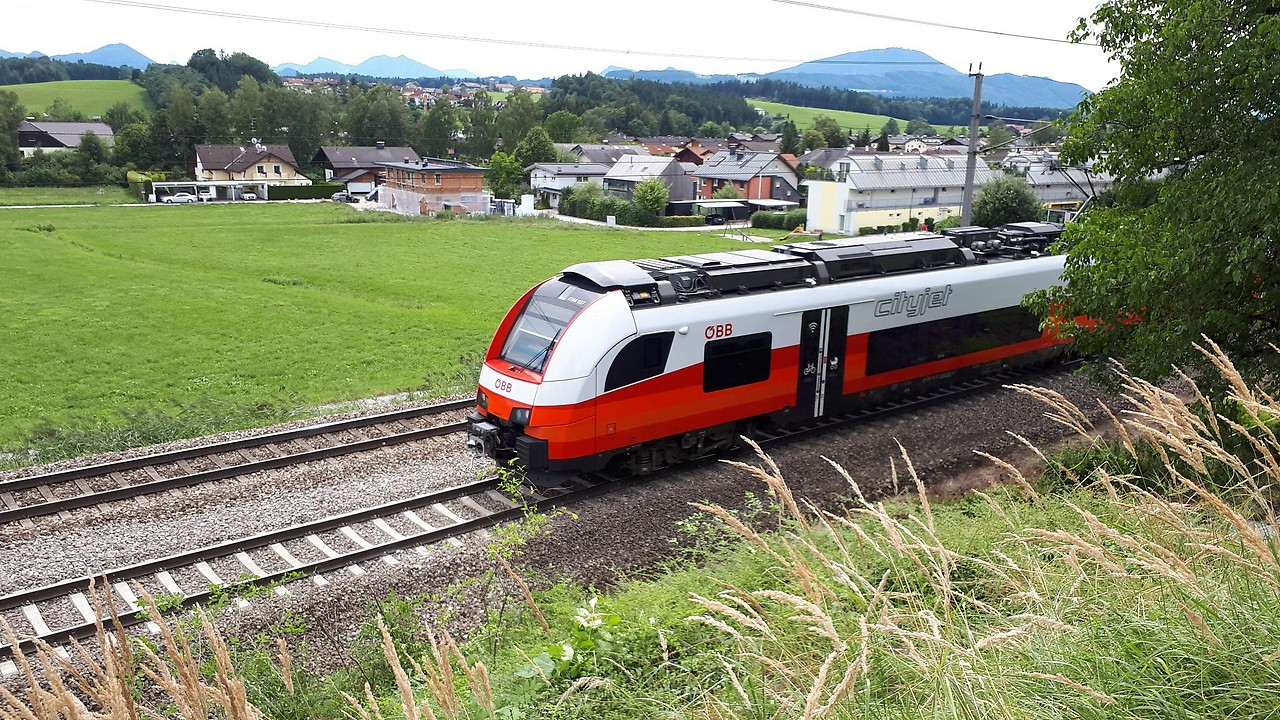 Verkehr Westbahnstrecke Dreiwöchige Baustelle Salzburg
