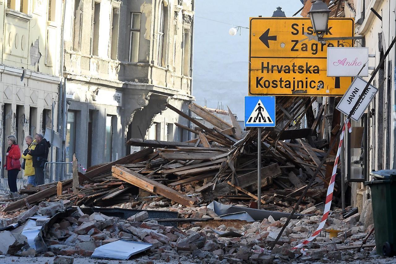 Pomocna Akcija Gh Za Zrtve Potresa Hrvati Visti