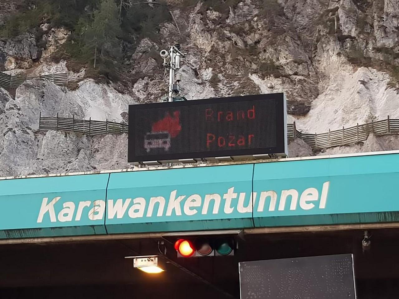 Karawankentunnel Verkehr