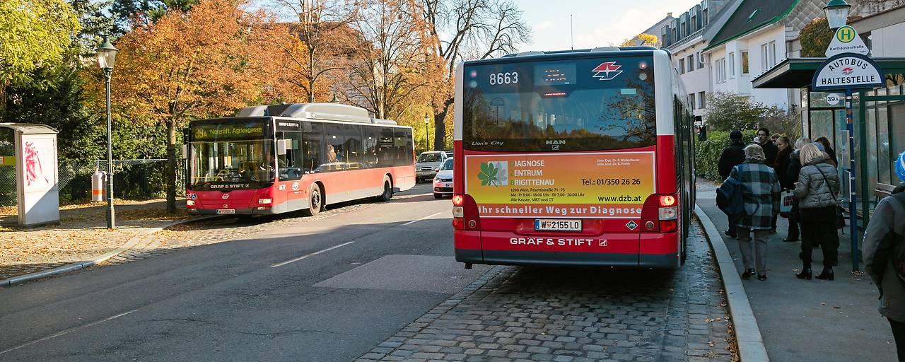 Wien testet Wasserstoff-Antrieb