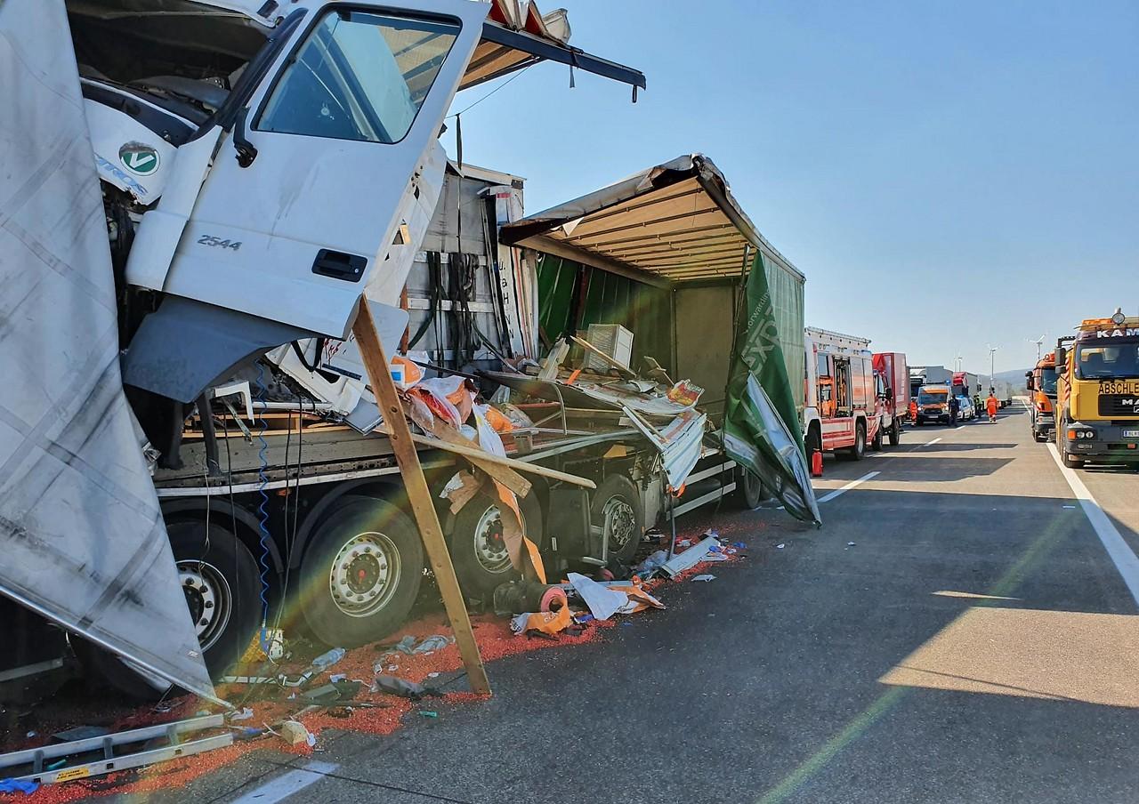 Lkw Unfall A6 Gestern