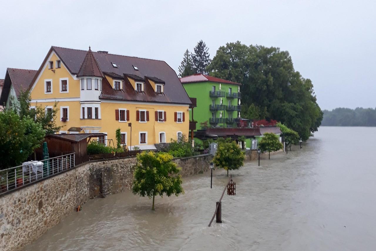 Hochwasser: Zivilschutzalarm auch in Saxen - ooe.ORF.at