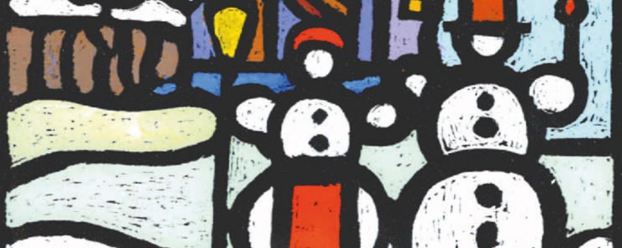 Ein Kunstkalender, der Notleidenden hilft