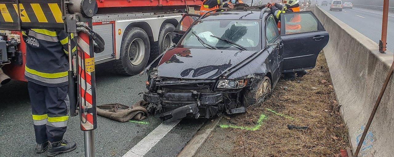 A2: Wilde Verfolgungsjagd endete mit Unfall