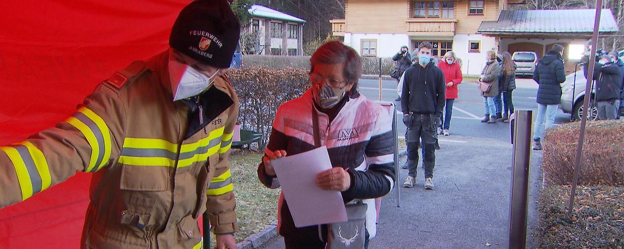 """Massentests in Annaberg: """"Bislang ruhiger zweiter Tag"""""""