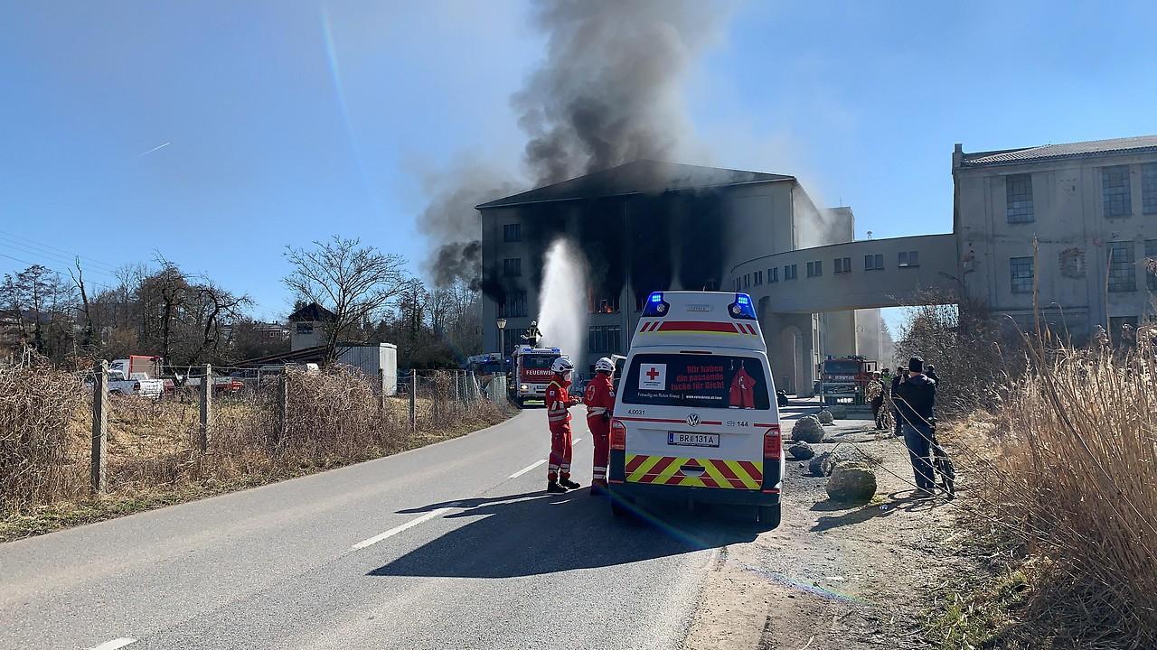 Brand Lederfabrik Vogl Mattighofen