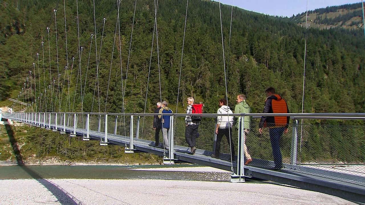 Hängebrücke Forchach Lech