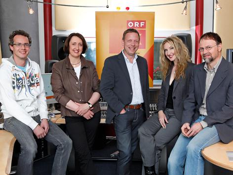 Christian Maierhofer, Waltraud Jäger, Martin Weberhofer, Vanessa Thun-Hohenstein, Andreas Kimeswenger