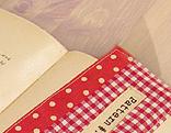 Buch mit Lesezeichen
