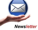 Hand mit Mail-Icon