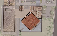 Entwurf der geplanten Moschee