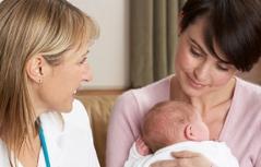 Mutter Baby Hebamme