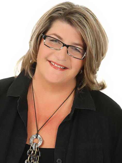 Moderatorin Ania Konarzewski