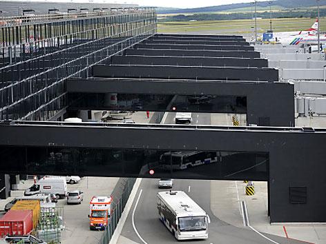 Skylink-Terminal am Flughafen Schwechat