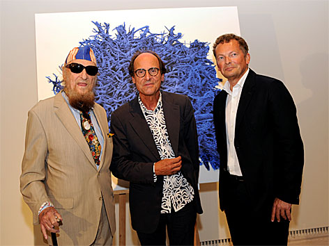 Ernst Fuchs, Manfred Bockelmann, Peter Weinhäupl v.l.n.r.)