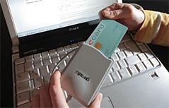 E-Card vor Computer