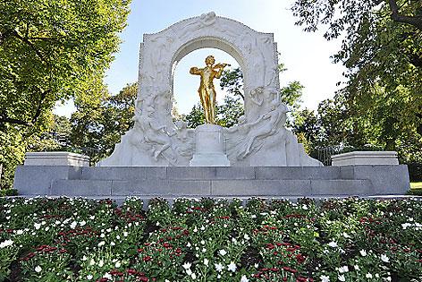 Johann-Strauß-Denkmal im Stadtpark