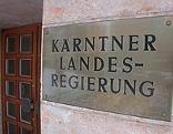 Eingangsbereich der Kärntner Landesregierung