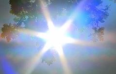 Sommer-Sonne und -Luft