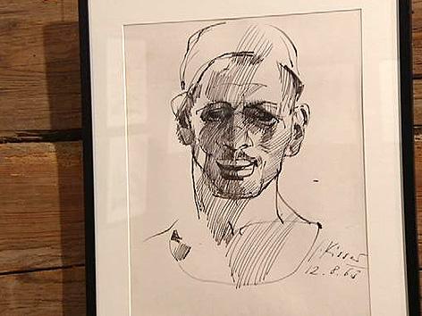 Zeichnung von Gerhard Kisser
