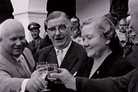 Figl  und Chruschtschov