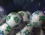Kugeln bei Lottoziehung