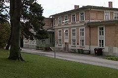 Pavillon von Otto Wagner auf den Steinhof-Gründen