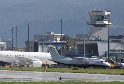 Vorfeld Flughafen Innsbruck