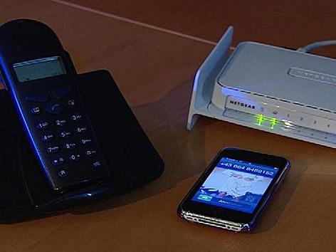 Handy, Rooter, Schnurlostelefon