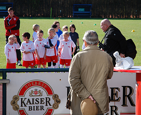 Marco Feingold auf dem Fußballplatz