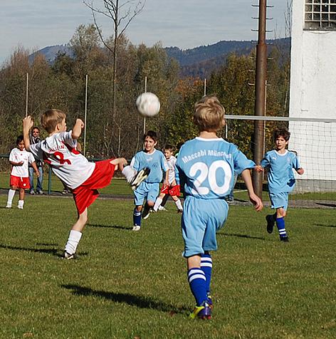 Hakoah - Jugend - Fußball Turnier in Hallein